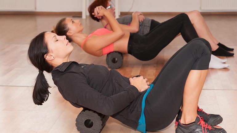 Rolowanie mięśni po treningu